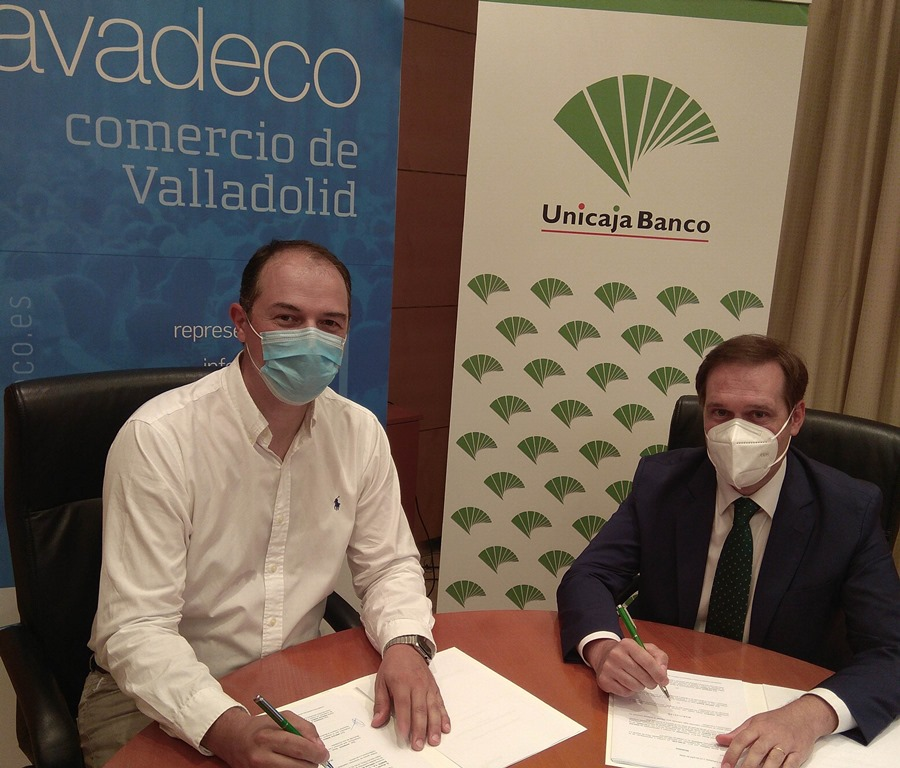 Unicaja Banco renews its support to Asociación Vallisoletana de Comercio (AVADECO) and its 500 members to boost the sector in view of the economic crisis caused by the coronavirus