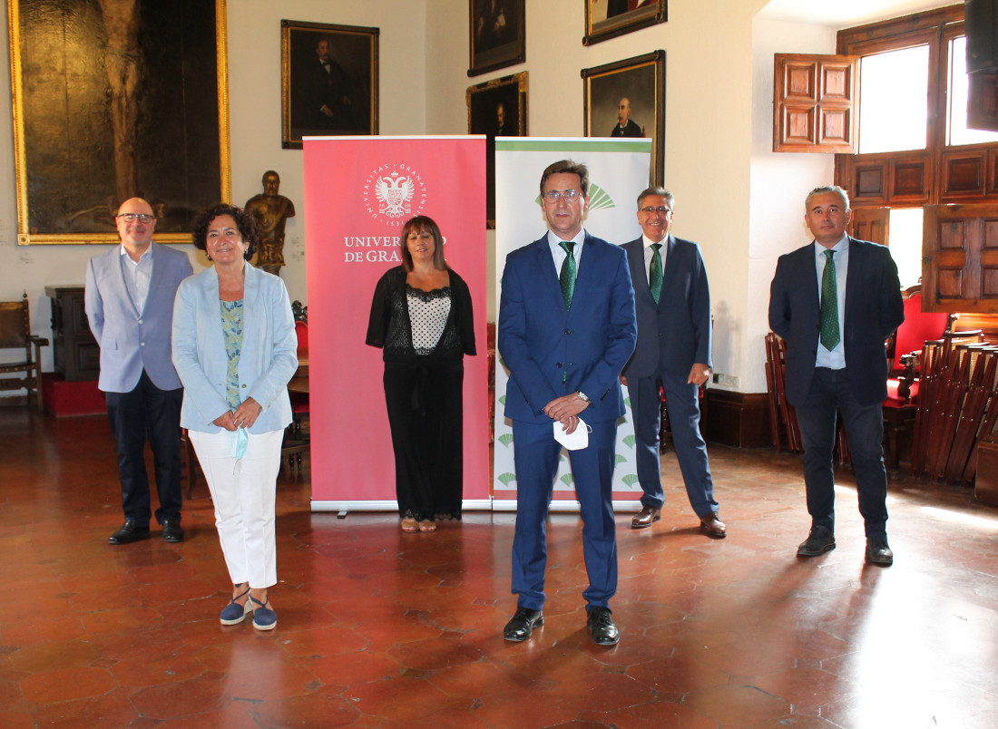 Unicaja Banco renews with the University of Granada the €2 million financing facility at a 0% interest rate, available to students to facilitate the payment of tuition fees