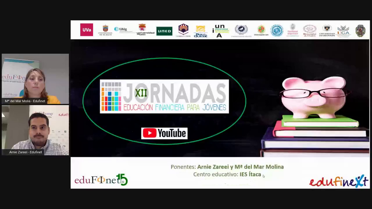 Unicaja's Edufinet Project starts online 12th Conferences on Financial Education for Young People