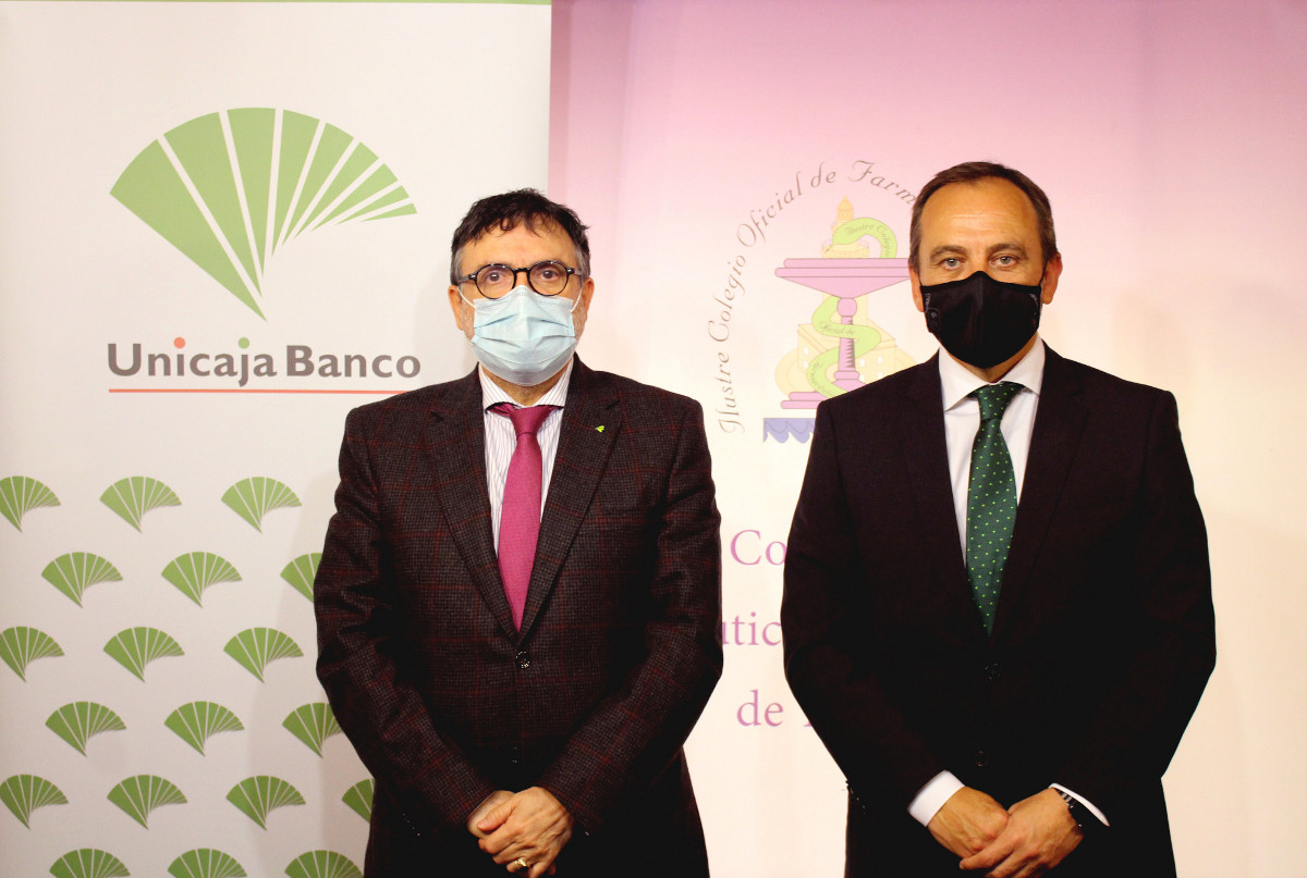Unicaja Banco and Colegio de Farmacéuticos de Málaga renew their collaboration, with a comprehensive financial service for the 700 pharmacies in the province, in the context of COVID-19