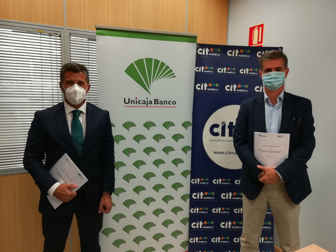Unicaja Banco renews its collaboration with CIT Marbella and offers financial products and services to its nearly 500 members