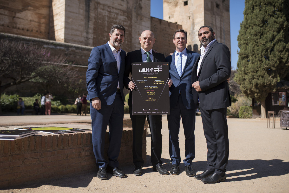 Unicaja Banco supports flamenco with the sponsorship of the Milnoff Festival, to be held in Granada